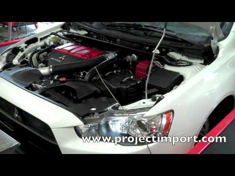 Project Import: 2010 EVO X Tune Tomei/AMS/K&N