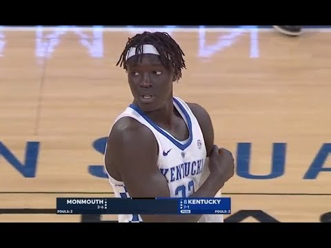 Kentucky vs Monmouth Basketball 2017 (Dec. 09) Full Game HD