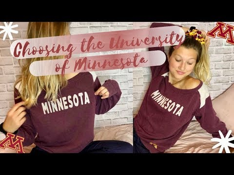 Why I Chose The University Of Minnesota (my Grades, Test Score, Acceptance)