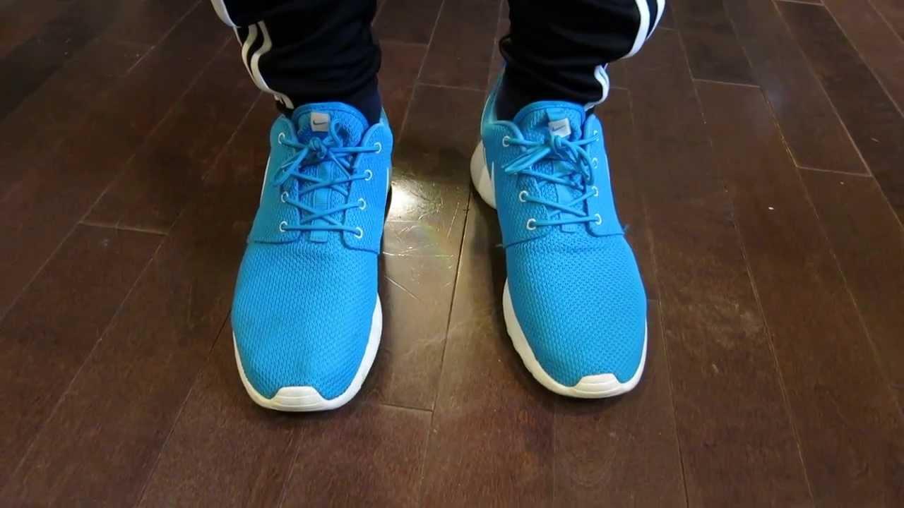 fdf4f02c6374 Today s On-Feet  Blue Hero Roshe Run! - YouTube