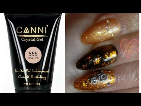 remove CANNI POLYGEL after 3 weeks and make new nails
