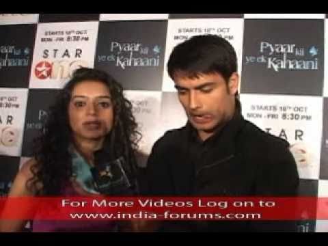 Pyaar Ki Ye Ek Kahaani Press Conference - ViSu / AbhayPiya and Ekta Interview