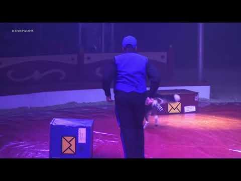 22ste Wintercircus in Apeldoorn met acts uit het beroemde Circus Monte Carlo full show 2015