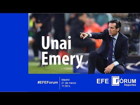 EFE Fórum Deportes con Unai Emery, entrenador del Sevilla FC
