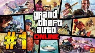GTA V Online Gameplay Walkthrough Part 1 -