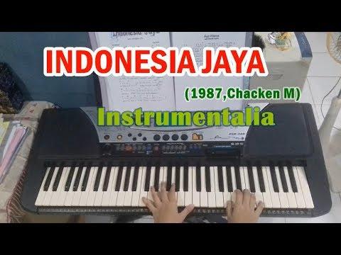 INDONESIA JAYA   ( Instrumentalia) || Lagu Festival 1987