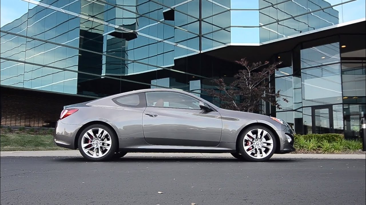2013 hyundai genesis coupe 3 8 r spec winding road quick drive youtube. Black Bedroom Furniture Sets. Home Design Ideas
