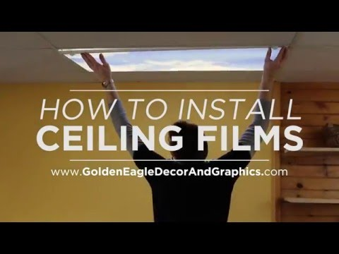 Decorative Fluorescent Light Diffuser Cover  (Installation Tutorial)