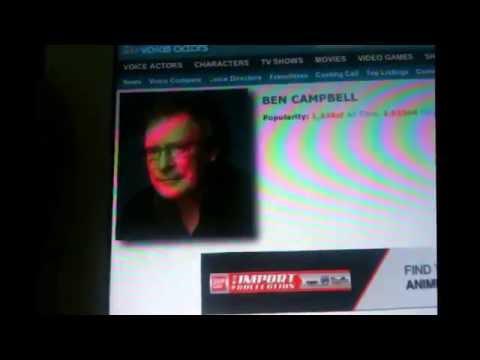Happy 59th Birthday, Benedict Campbell