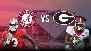 "Georgia VS Alabama 2018 National Championship Hype | ""We"
