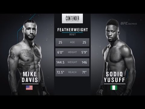 FREE FIGHT | Yusuff Shows Off His Skillset | DWTNCS Week 6 Contract Winner - Season 2