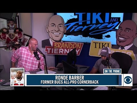 Ronde Barber joins The Tiki and Tierney show