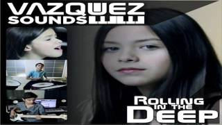 Los Vazquez Sound   Rolling in The Deep Dj AndreziitO Remix