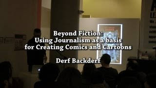 Beyond Fiction: Using Journalism as a basis for Creating Comics and Cartoons