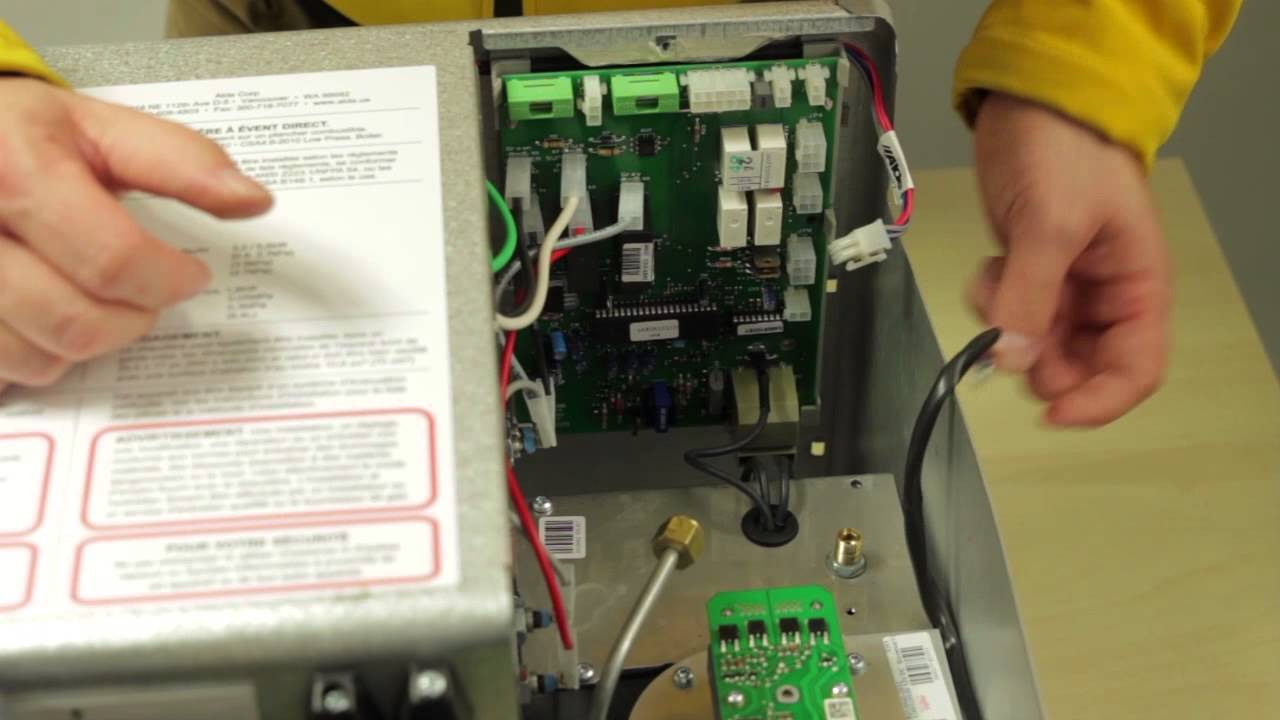 How To Replace The Pcb Alde 3010 Us Spec Youtube