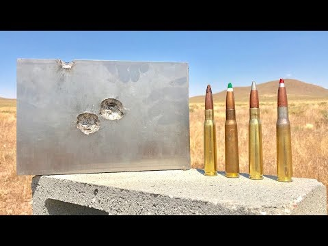 50 CAL VS TITANIUM AT 90 DEGREES (Not a good idea AT ALL )