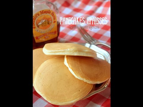Recette des vrais pancake crêpe americaine / How to get nice and fluffy pancakes