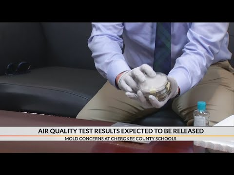 Air quality test results expected to be released