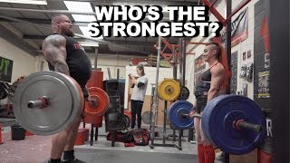 Download Worlds Strongest Man .VS. Worlds Strongest Women! Mp3 and Videos