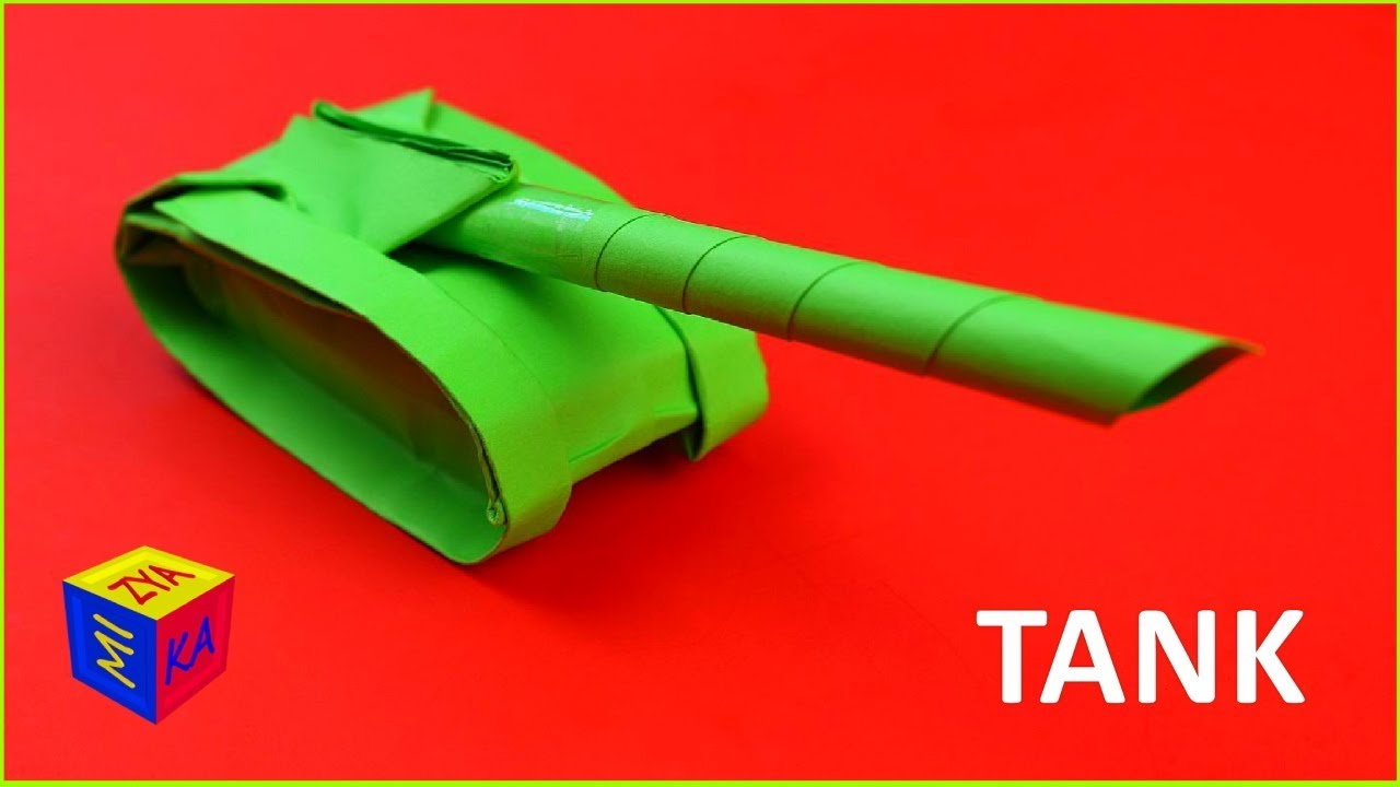 How to Fold an origami army tank with one sheet of paper « Origami ... | 720x1280