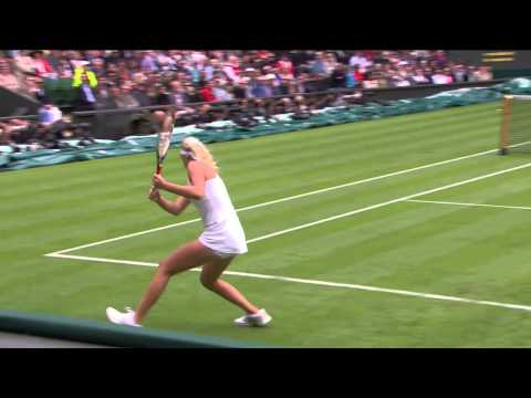 2013 Day 1 Highlights: Maria Sharapova v Kristina Mladenovic