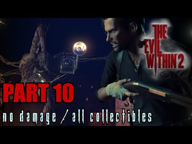 The Evil Within 2 Walkthrough Part 10 - Getting Back Online No Damage / All Collectibles