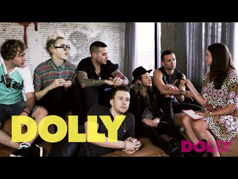 DOLLY chats to McBusted about Combinations | Celeb Bites