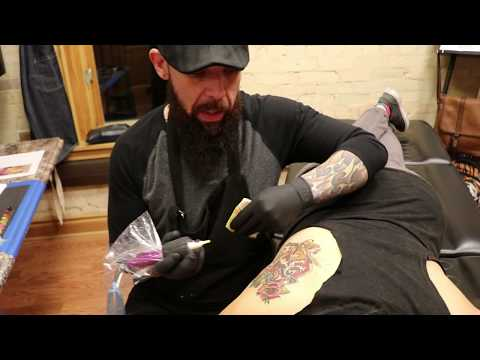 Brian Martiniez's Vintage Queen Tattoo Private Art Studio