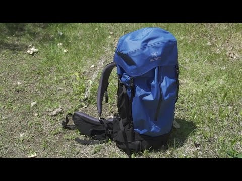 abe5c2aee97 First Impressions: The Arc'teryx Bora Backpack - YouTube