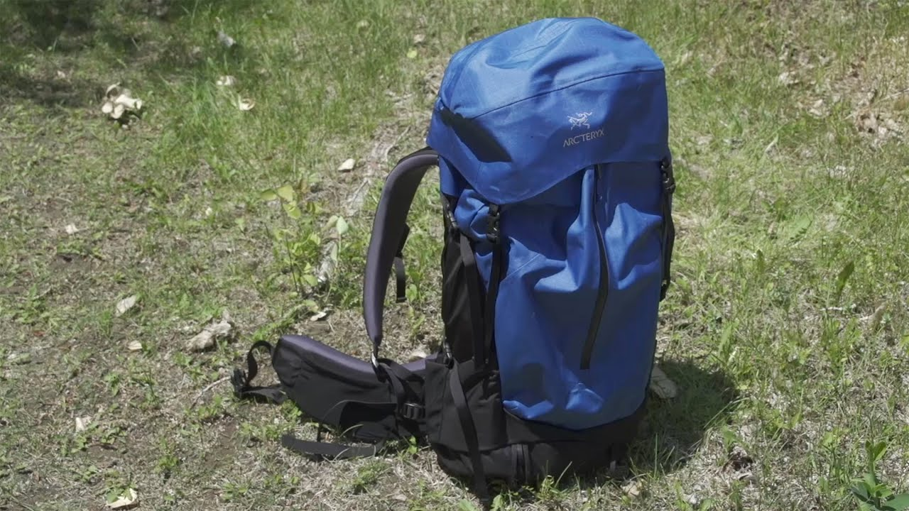 57ca4db881d First Impressions: The Arc'teryx Bora Backpack - YouTube