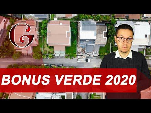 BONUS VERDE 2020: