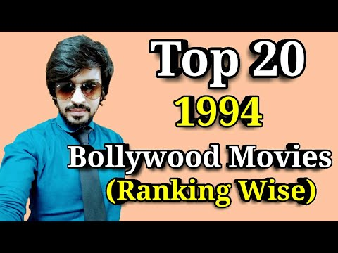 Top 20 Bollywood Movies List | 1994 | Ranking Wise Films