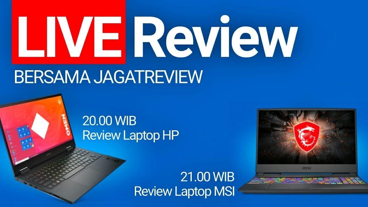 Live Review 3 Laptop Bersama Jagat Review