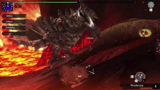 Game Monster Hunter Generations Ultimate review team 4 người