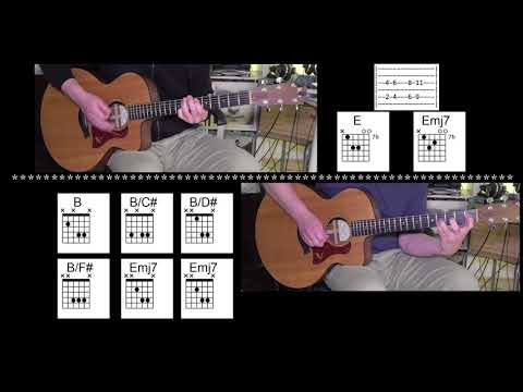 I Miss You - 2 Acoustic Guitars - Vocal track by Blink-182 - Chords