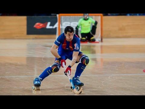 [ESP] LIGA EUROPEA Hockey patines: FC Barcelona Lassa - FC Oporto (3-1)