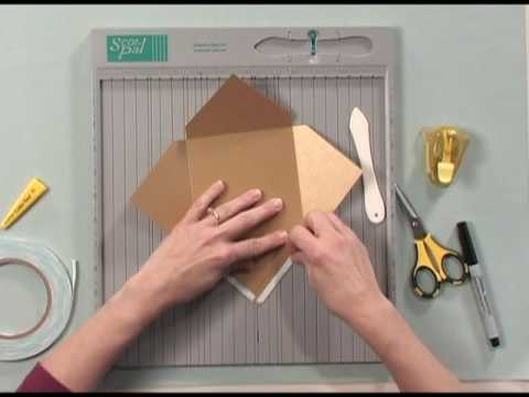 Making A Square Envelope Youtube