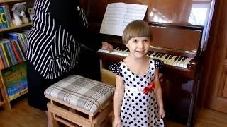 Обучение игре на фортепиано детей от 2,5 лет по методике Н.С.Лемешкиной