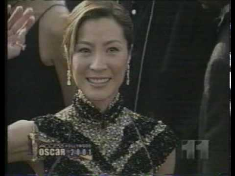 Access Hollywood Fashion Review: Michelle Yeoh (2001)