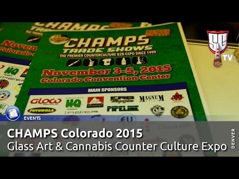 CHAMPS Denver Colorado 2015 - Glass Art & Cannabis Counter Culture Expo - Smokers Guide TV Colorado