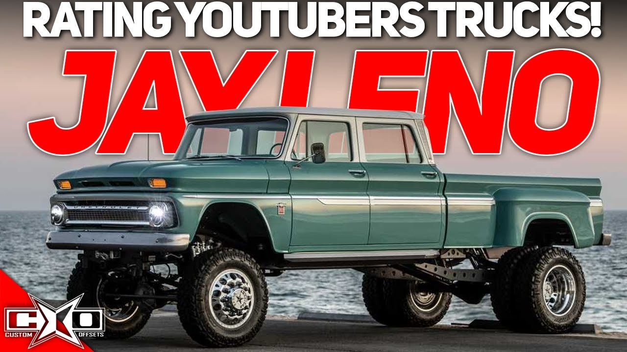 Jay Leno Has WHAT?!? || Rating Youtubers Trucks!!