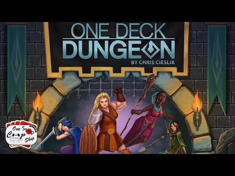 One Deck Dungeon Playthrough