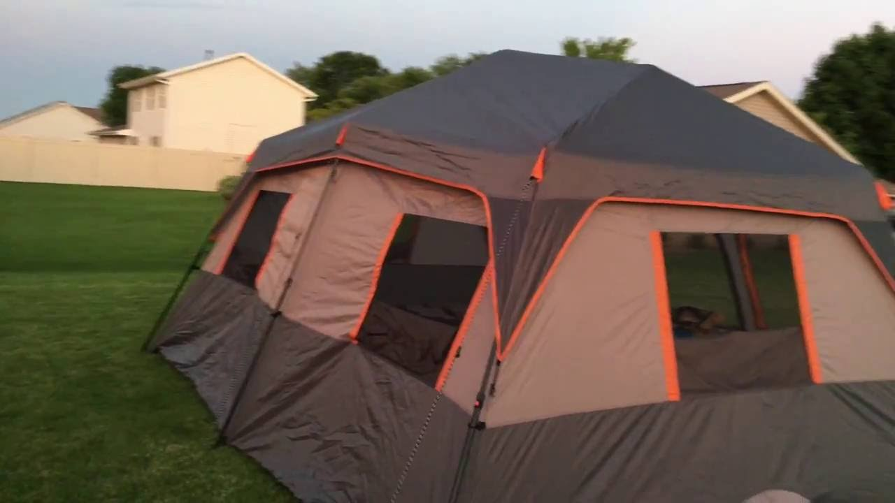 Ozark Trail 10-Person Instant Tent Review | Doovi