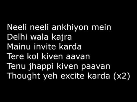 main tera boyfriend lyrics translation