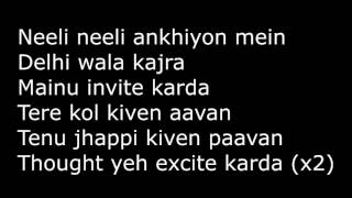 main tera boyfriend lyrics translation