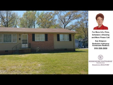 909 Sioux Drive, Jacksonville, NC Presented by Sue Simpson.