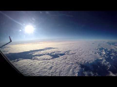 Взлет в Ереване. Посадка в Домодедово.