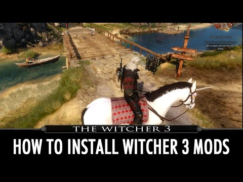 How to Install Witcher 3 Mods - YouTube