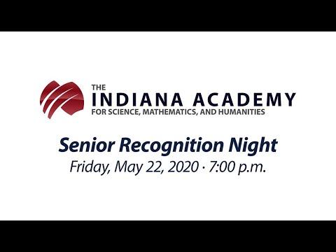 Indiana Academy Senior Recognition Night