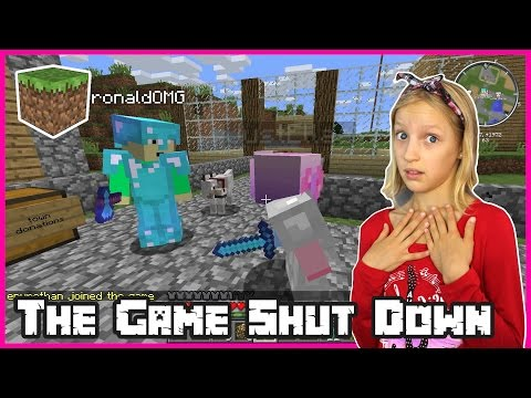 The Game Shut Down / Flying Elytra Glider Wings / Minecraft